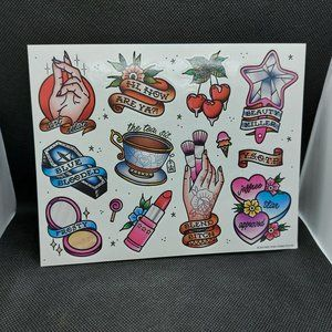 **RARE ** Jeffree Star Sticker Sheet